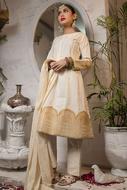 Gul Ahmed Online DGS-104 Lamis Silk Collection 2021