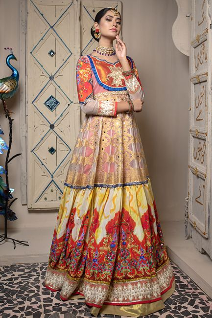 Gul Ahmed Online DGS-95 Lamis Silk Collection 2021